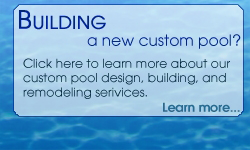 Building a new pool? Alison Pools Atlanta offers custom pool construction services.